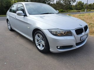 2009 BMW 3 Series E90 320d Executive Silver Sports Automatic Sedan.