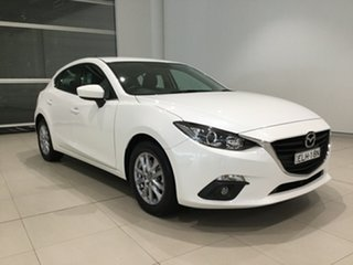 2016 Mazda 3 BM5478 Touring SKYACTIV-Drive Snowflake White 6 Speed Sports Automatic Hatchback.