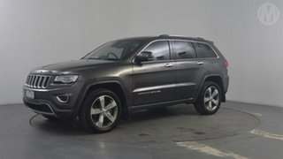 2015 Jeep Grand Cherokee WK MY15 Overland (4x4) Grey 8 Speed Automatic Wagon.