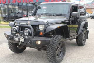 2007 Jeep Wrangler JK Rubicon (4x4) Black 6 Speed Manual Softtop