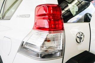 2011 Toyota Landcruiser Prado KDJ150R GXL (4x4) Glacier White 5 Speed Sequential Auto Wagon