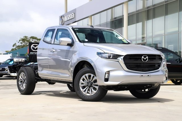 New Mazda BT-50 B30B XT (4x4) Kirrawee, 2020 Mazda BT-50 B30B XT (4x4) Ingot Silver 6 Speed Manual Freestyle Cab Chassis