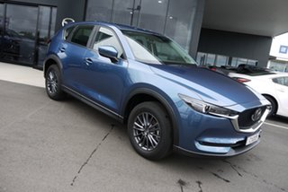 2020 Mazda CX-5 KF2W7A Maxx SKYACTIV-Drive FWD Sport Blue 6 Speed Sports Automatic Wagon.