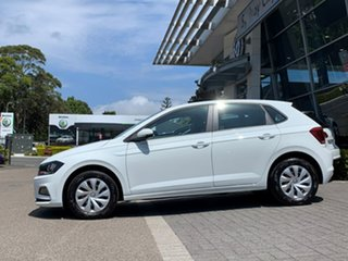 2020 Volkswagen Polo AW MY20 70TSI Trendline White 5 Speed Manual Hatchback