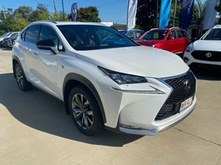 2016 Lexus NX AGZ15R NX200t AWD F Sport White 6 Speed Sports Automatic Wagon