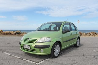 2005 Citroen C3 Exclusive SensoDrive Green 5 Speed Sports Automatic Single Clutch Hatchback