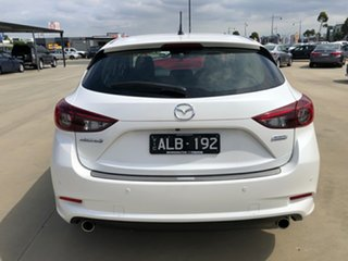 2016 Mazda 3 BN5438 SP25 SKYACTIV-Drive White, Crystal Pearl 6 Speed Sports Automatic Hatchback