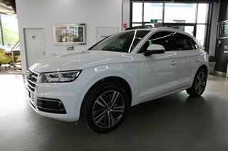 2019 Audi Q5 FY MY19 40 TDI S Tronic Quattro Ultra Sport White 7 Speed Sports Automatic Dual Clutch