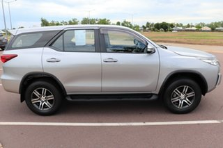 2016 Toyota Fortuner GUN156R GX Silver Sky 6 Speed Manual Wagon.