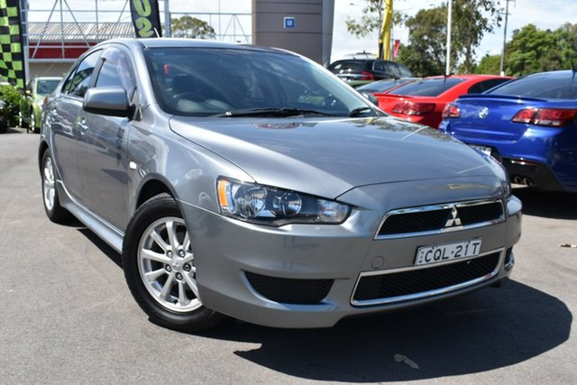 Used Mitsubishi Lancer CJ MY14.5 LX Tuggerah, 2014 Mitsubishi Lancer CJ MY14.5 LX Silver 5 Speed Manual Sedan