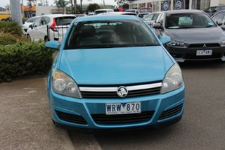2005 Holden Astra AH MY06 CDX Blue 5 Speed Manual Coupe.