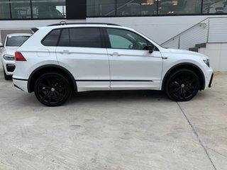 2018 Volkswagen Tiguan 5N MY19 Wolfsburg Edition DSG 4MOTION White 7 Speed.
