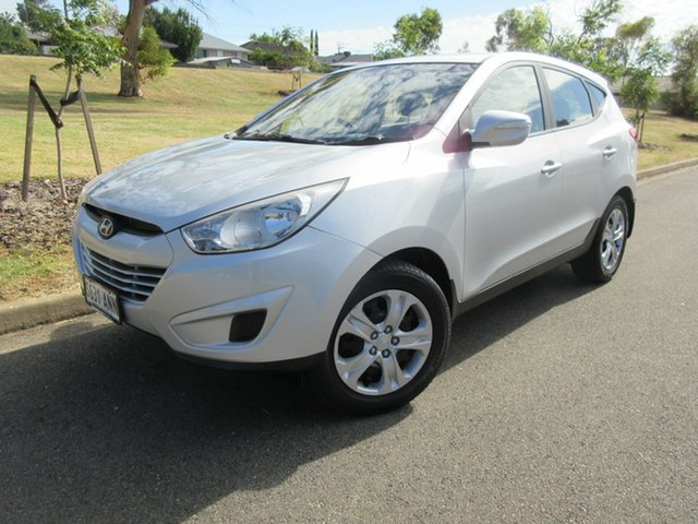 Used Hyundai ix35 LM MY12 Active Reynella, 2011 Hyundai ix35 LM MY12 Active Silver 6 Speed Sports Automatic Wagon