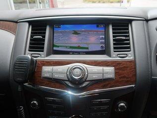 2018 Nissan Patrol Y62 Series 4 TI White 7 Speed Sports Automatic Wagon