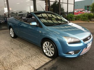 2007 Ford Focus LT Coupe-Cabriolet Blue 5 Speed Manual Cabriolet.