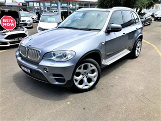 2010 BMW X5 E70 MY11 xDrive50i Steptronic Sport Silver 8 Speed Sports Automatic Wagon.