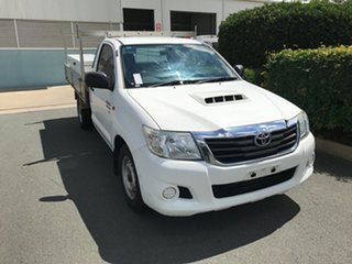 2014 Toyota Hilux KUN16R MY14 SR 4x2 Glacier 5 speed Manual Cab Chassis.