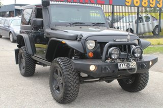 2007 Jeep Wrangler JK Rubicon (4x4) Black 6 Speed Manual Softtop.