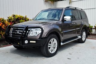 2016 Mitsubishi Pajero NX MY16 GLX Ironbark 5 Speed Sports Automatic Wagon