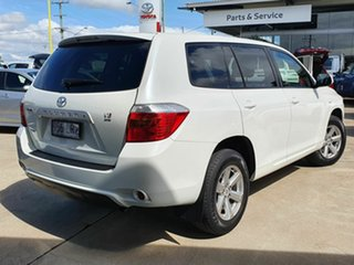 2009 Toyota Kluger KXR White 5 Speed Automatic Wagon