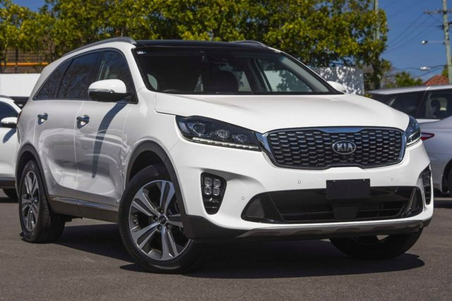 Used Kia Sorento UM MY19 GT-Line AWD Mount Gravatt, 2019 Kia Sorento UM MY19 GT-Line AWD Clear White 8 Speed Sports Automatic Wagon