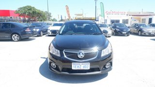 2013 Holden Cruze JH Series II MY13 SRi-V Black 6 Speed Sports Automatic Sedan.