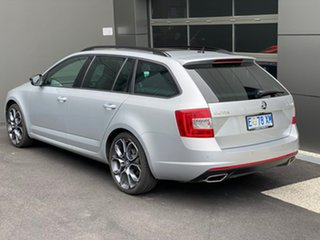 2015 Skoda Octavia NE MY15.5 RS DSG 135TDI Silver 6 Speed Sports Automatic Dual Clutch Wagon
