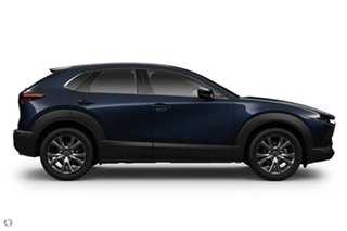 2020 Mazda CX-30 DM4WLA G25 SKYACTIV-Drive i-ACTIV AWD Astina Blue 6 Speed Sports Automatic Wagon