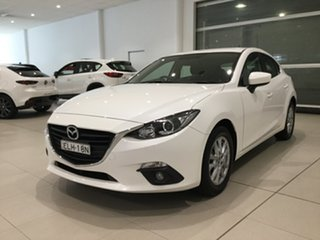 2016 Mazda 3 BM5478 Touring SKYACTIV-Drive Snowflake White 6 Speed Sports Automatic Hatchback