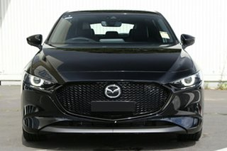 2021 Mazda 3 BP2HL6 G25 SKYACTIV-MT Astina Jet Black 6 Speed Manual Hatchback
