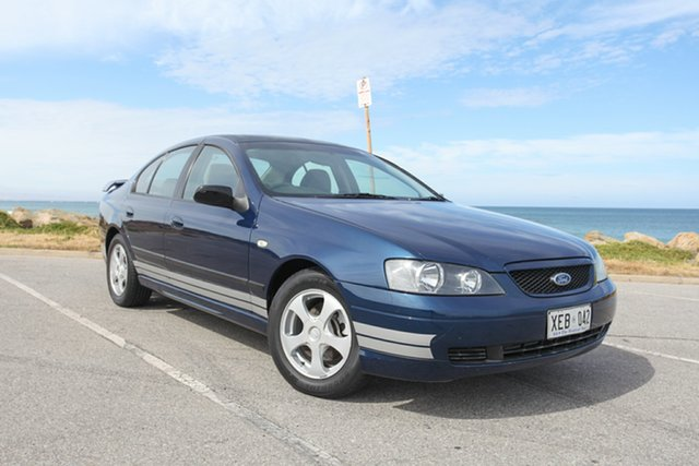 Used Ford Falcon BA XT Lonsdale, 2003 Ford Falcon BA XT Blue 4 Speed Sports Automatic Sedan
