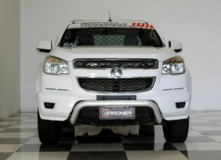 2013 Holden Colorado RG MY14 LX (4x4) White 6 Speed Automatic Space Cab Chassis
