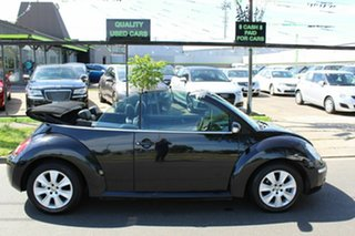 2009 Volkswagen Beetle 1Y MY2008 Black 6 Speed Sports Automatic Cabriolet