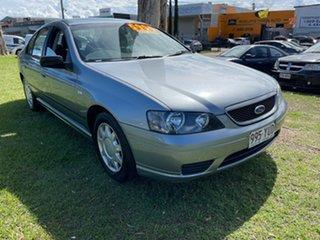 2004 Ford Falcon BA XT Grey 4 Speed Sports Automatic Sedan.