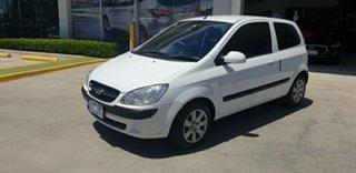 2010 Hyundai Getz TB MY09 S White 4 Speed Automatic Hatchback