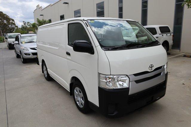 Used Toyota HiAce KDH201R LWB Castle Hill, 2017 Toyota HiAce KDH201R LWB White 4 Speed Automatic Van