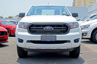2020 Ford Ranger PX MkIII 2020.25MY XL White 6 Speed Sports Automatic Super Cab Chassis.