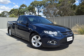 2011 Ford Falcon FG R6 Ute Super Cab Dark Blue 6 Speed Sports Automatic Utility.