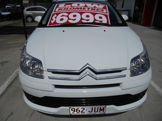 2006 Citroen C4 VTR White 5 Speed Manual Coupe.