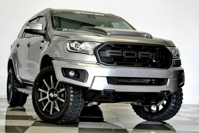 Used Ford Everest UA MY17 Trend (RWD) Burleigh Heads, 2017 Ford Everest UA MY17 Trend (RWD) Grey 6 Speed Automatic SUV