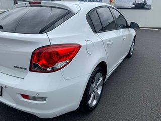 2014 Holden Cruze JH Series II MY14 Equipe White 6 Speed Sports Automatic Hatchback