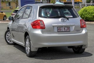 2007 Toyota Corolla ZRE152R Levin SX Silver 4 Speed Automatic Hatchback.