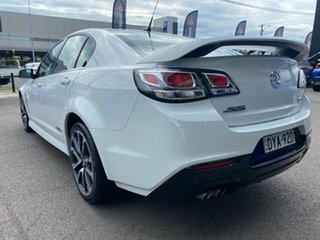 2015 Holden Commodore VF II MY16 SS V White 6 Speed Manual Sedan