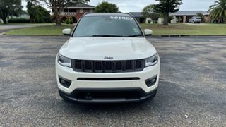 2020 Jeep Compass M6 MY20 S-Limited Vocal White 9 Speed Automatic Wagon.