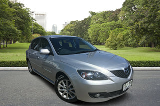 2008 Mazda 3 BK10F2 Maxx Sport Silver 4 Speed Sports Automatic Hatchback.
