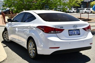 2014 Hyundai Elantra MD3 Trophy White 6 Speed Manual Sedan.