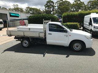 2014 Toyota Hilux KUN16R MY14 SR 4x2 Glacier 5 speed Manual Cab Chassis