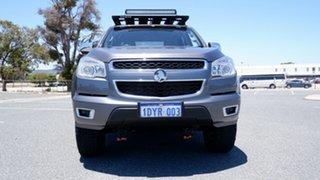 2012 Holden Colorado RG MY13 LTZ Crew Cab Grey 6 Speed Sports Automatic Utility.