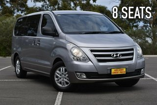 2017 Hyundai iMAX TQ3-W Series II MY17 Silver 5 Speed Automatic Wagon.