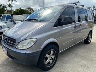 2007 Mercedes-Benz Vito 639 MY07 115CDI Low Roof Comp Silver 5 Speed Automatic Van.